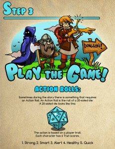 Page for Play the Game